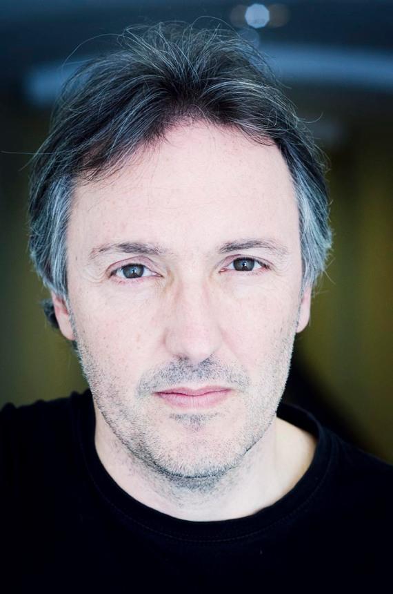 Carlos Zanón © Fotografía de Carles Domènec